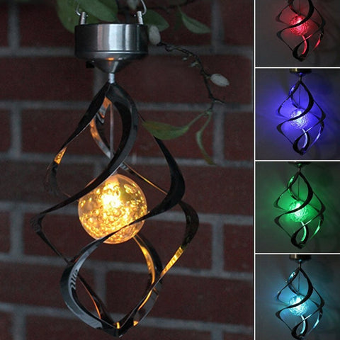 LED Color Changing Solar Wind Chime Light - Looker Gifts