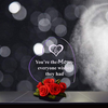 Image of Heart Shaped LED Light (Multiple Phrases) - Looker Gifts