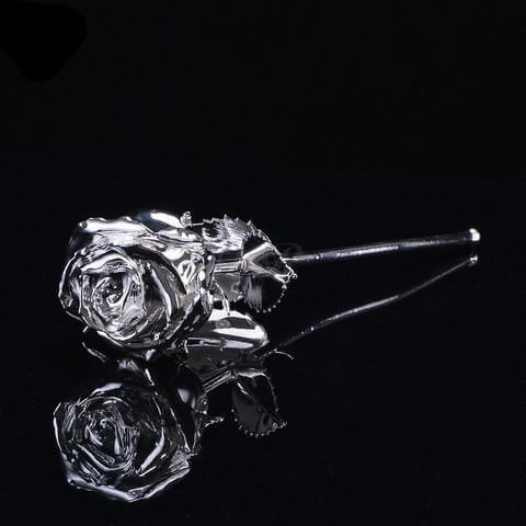 Platinum Dipped Rose - Looker Gifts