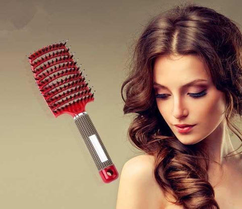 Magic Detangle™ Boar Bristle Hair Brush - Looker Gifts