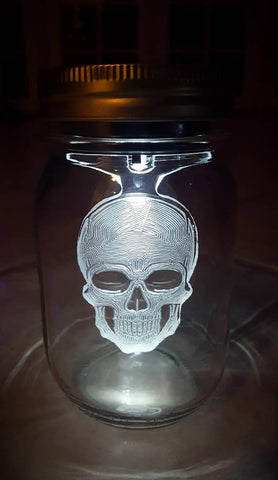 SOL LIGHTS - Solar Mason Jar Character Lights - Looker Gifts