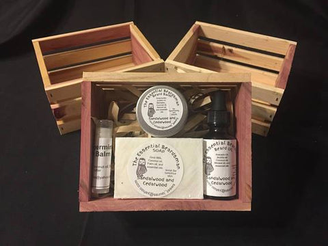 Men's Gift Pack in Cedar Crate - Looker Gifts