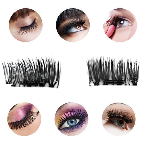 Magnelash™ Reusable Magnetic 3D False Eyelashes - Looker Gifts
