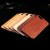 Image of Natural Real Wood Bamboo Phone Case - Looker Gifts
