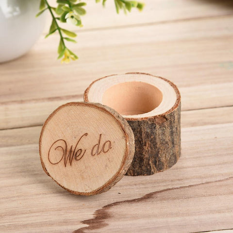 We Do Romantic Engagement Ring Box - Looker Gifts