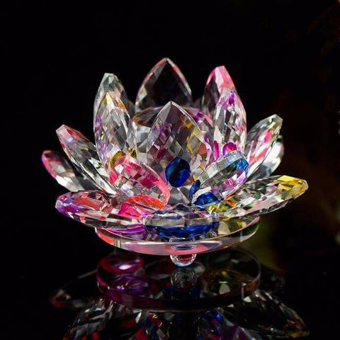 Crystal Lotus Flower - Looker Gifts