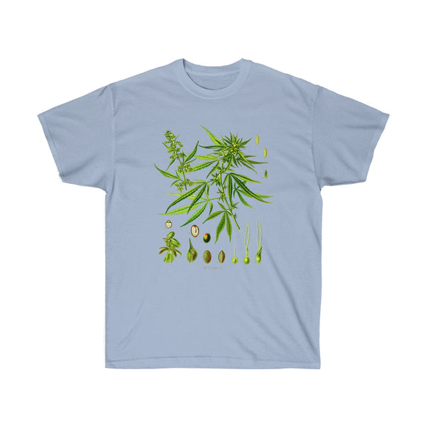 Unisex Ultra Cotton Tee Light Blue / 5XL Printify T-Shirt SENSE Hemp