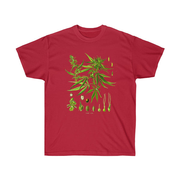 Unisex Ultra Cotton Tee Cardinal Red / 5XL Printify T-Shirt SENSE Hemp