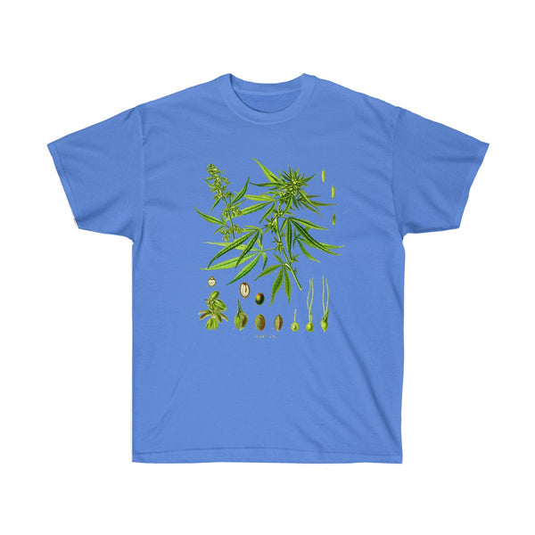 Unisex Ultra Cotton Tee Iris / 5XL Printify T-Shirt SENSE Hemp