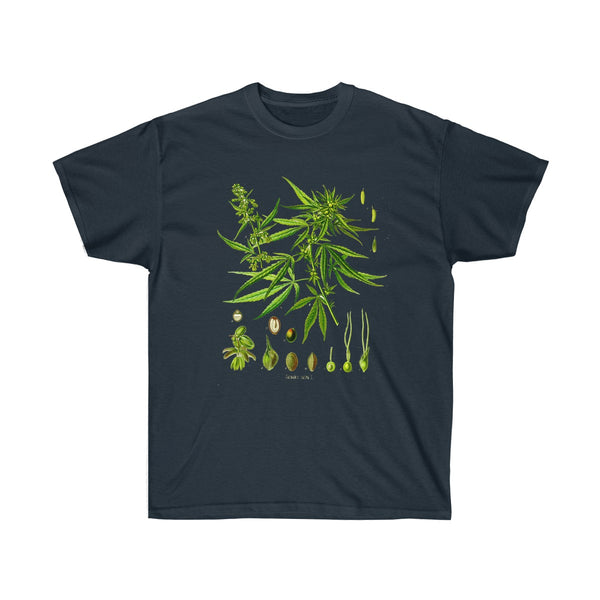 Unisex Ultra Cotton Tee Navy / 5XL Printify T-Shirt SENSE Hemp