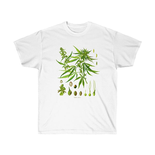 Unisex Ultra Cotton Tee White / 5XL Printify T-Shirt SENSE Hemp