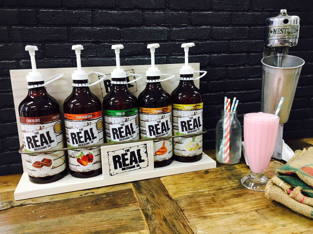THE REAL MILKSHAKE CO. Starter Pack - All 5 Flavours 1.5L