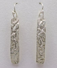 "Load image into Gallery viewer, Sterling 'Dare to Dream Collection' Skinny Earrings 2 1/4"" long"