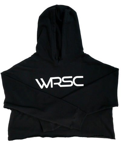 Woman's Crop Hooded Pullover