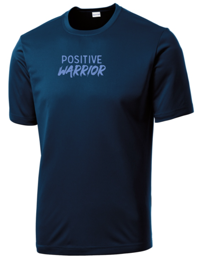 Positive Warrior - Men's Dri-Fit - Midnight Navy