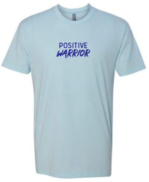 Positive Warrior - Men's / Unisex - Ice Blue