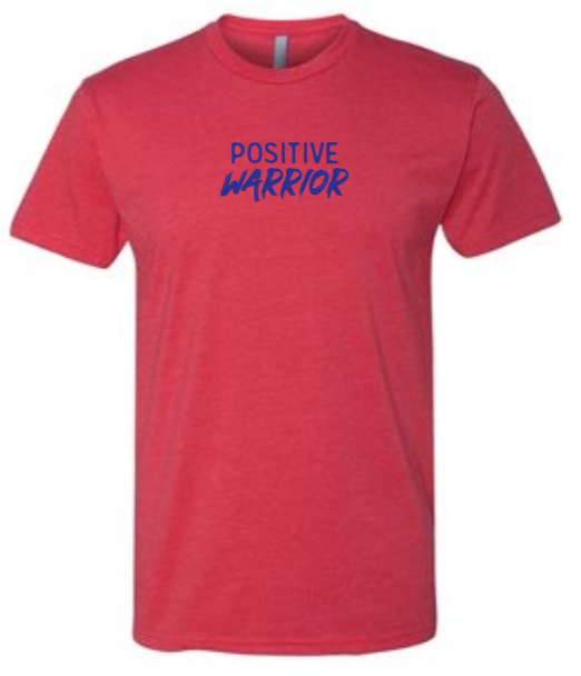 Positive Warrior - Men's / Unisex - Red