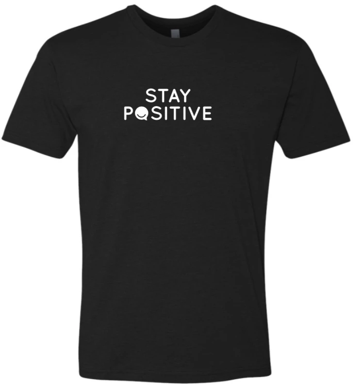 Stay Positive - Men's / Unisex - Black