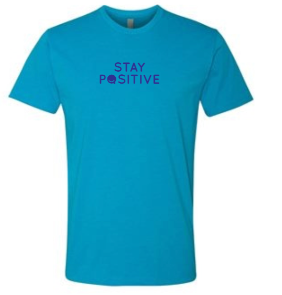 Stay Positive - Women's - Turquoise