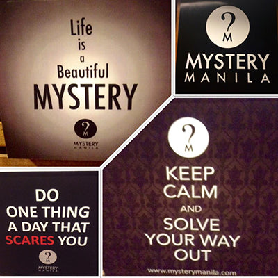20% OFF Mystery Manila Gift Certificate - Eastwood City Walk