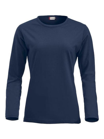 Clique Clique Fashion-T L/S Ladies in XS - 121 Workwear - Personalised Workwear