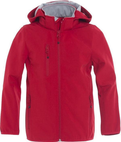 Clique Clique Basic Softshell Jacket Junior in 90-100 - 121 Workwear - Personalised Workwear