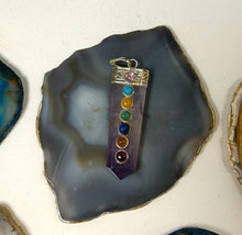 Load image into Gallery viewer, Amethyst, seven chakra