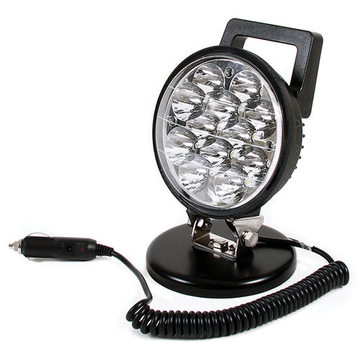Round 12 LED Magnetic Work Lamp - Flood Beam