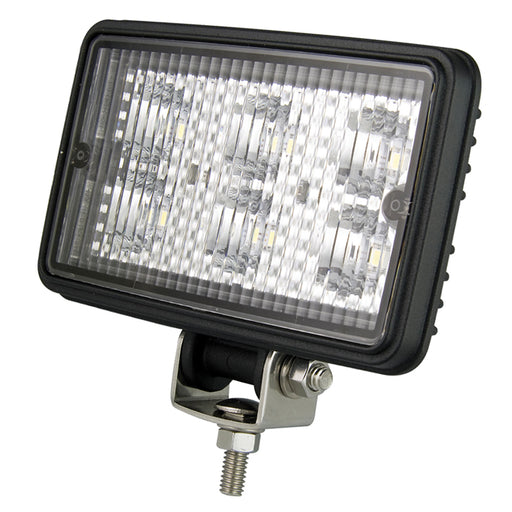 Rectangle 6 LED Work Lamp - Flood Beam
