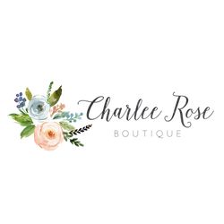 Logo, Charlee Rose Boutique, Women's Clothing Store, Online Boutique