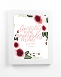 Fearfully & Wonderfully Made Print