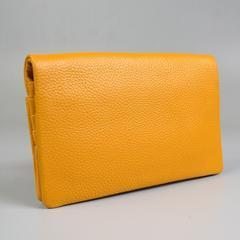 CREMORNE-  Mustard Soft Premium Leather Fold Wallet - AllBags4u