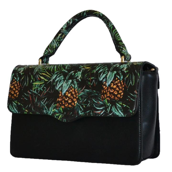 Billie - Tropical Faux Leather Crossbody - AllBags4u