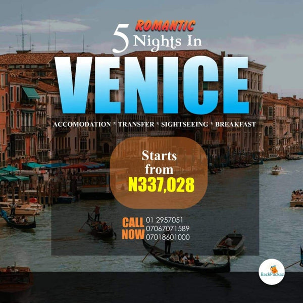 Venice, Italy 🇮🇹 - 5 Nights Romantic Getaway