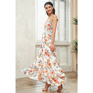 Classy and Elegant Long Dress Maxi Dress Vintage Women Street Style Exotic Backless Dress Styles
