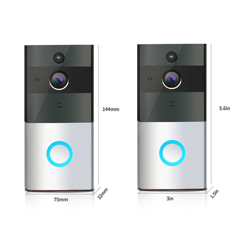Image of Wireless WiFi Video Doorbell Control by iOS Android