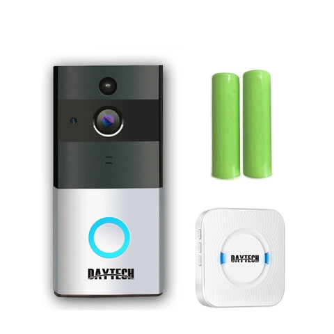 Wireless WiFi Video Doorbell Control by iOS Android
