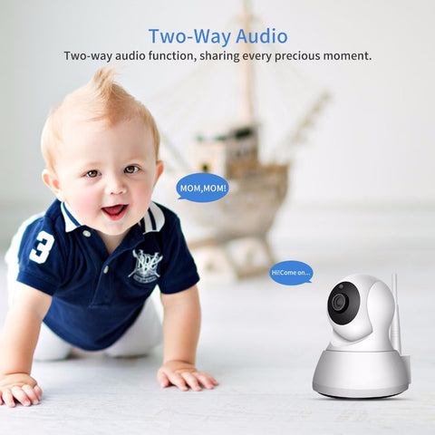 Image of Home Security IP Camera Wi-Fi 1080P 720P Wireless Network Camera CCTV Camera Surveillance P2P Night Vision Baby Monitor