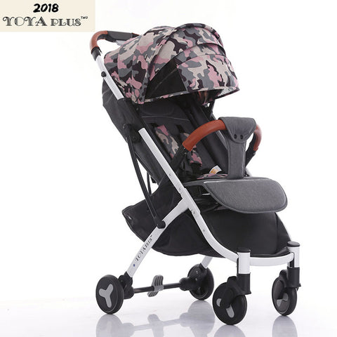 Image of Plus light folding baby stroller