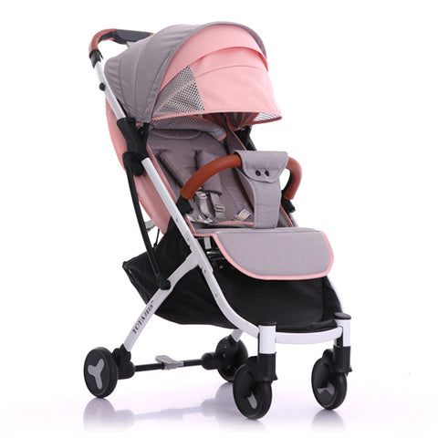 Plus light folding baby stroller