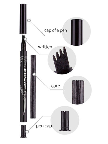 Microblading Waterproof Eyebrow Pen - Long Lasting Eyebrow Tattoo Pencil