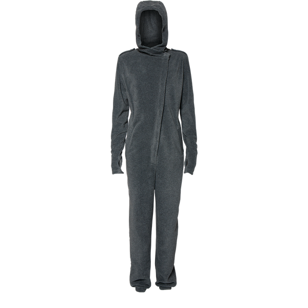 Karmameju Fleece Pantsuit, COTOPAXI, Dark Grey