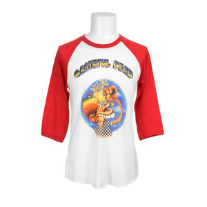 Ice Cream Kid Red Raglan
