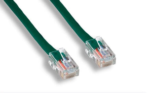 Cat5E Ethernet Patch Cable, Green
