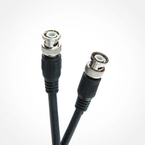 RG-6 BNC to BNC Coax Cable (3-100ft) Side View