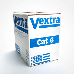 Vextra VPC64B 1000ft Cat6 Plenum Cable