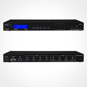 PureLink UX-4400 4x4 4K HDMI Matrix Switcher with HDCP 2.2