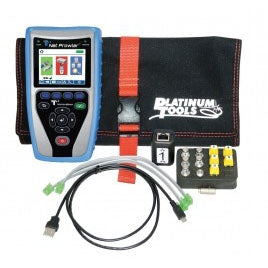 Platinum Tools Net Prowler Tester with Bag