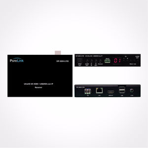 PureLink AV UltraHD 4K HDMI and USB/KVM over IP Receiver with PoE