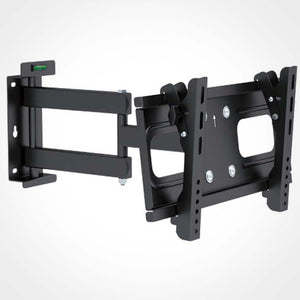 Single Arm Full Motion TV Wall Mount Bracket 32 to 55 Inch Screens